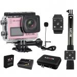 SJCAM SJ6 LEGEND(Golden rose) + Battery + DualCharger + BAG(L) + RemoteSelfie + RemoteBand + ExternalMic