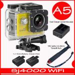 SJ4000 Wi-Fi (Yellow)+Battery+Dual Charger+TMC Selfie