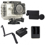 Sj5000X (Silver) +(Battery+Dual charger+Protective Lans+3 Way)