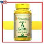 Vitamin A 10,000 IU - 250 Softgels Puritan