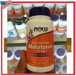 Melatonin 10 mg.100 capsules Now Foods