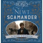 Fantastic Beasts Newt Scamander A Movie Scrapbook ปกUK