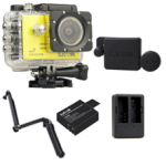 Sj5000X (Yellow) +(Battery+Dual charger+Protective Lans+3 Way)