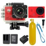 Sj5000 WiFi (Red) +Battery+Dual Charger+Bobber Floatting