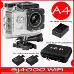 SJ4000 Wi-Fi (White)+Battery+Dual Charger+BAG(L)