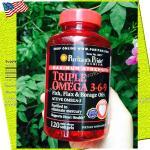 TRIPLE OMEGA 3-6-9 Fish&Oils 120Softgels