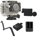 Sj5000X (Black) +(Battery+Dual charger+Protective Lans+3 Way)