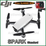 DJI SPARK(White) Free SJCAM SJ4000 WiFi (Red)