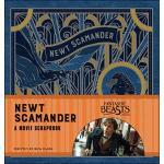 Fantastic Beasts Newt Scamander A Movie Scrapbook ปกUSA