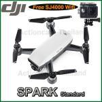 DJI SPARK(White) Free SJCAM SJ4000 WiFi (Black)