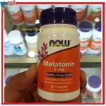 Melatonin 3 mg 60 Capsules Now Foods