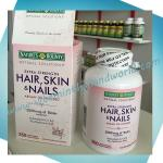 Nature's Bounty, Optimal Solutions, Hair, Skin & Nails, Extra Strength, 250 Rapid Release Liquid Softgels