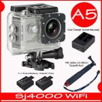 SJ4000 Wi-Fi (Silver)+Battery+Dual Charger+TMC Selfie