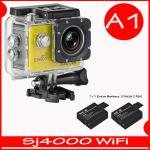 SJ4000 Wi-Fi (Yellow)+Battery