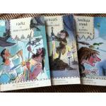 ชุด การผจญภัยบันลือโลก 3 เล่ม เจสันกับขนแกะทองคำ, อาเธอร์กับดาบแห่งราชันย์ และ วิลเลียม เทลล์ กับแอปเปิลแห่งอิสรภาพ