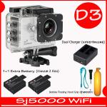 SJ5000X (White)+ Battery + Dual Charger + Bobber