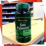 Saw Palmetto 450mg 100capsules