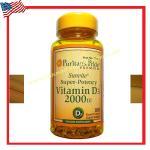 Vitamin D3 2,000 IU 100 Softgels