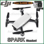 DJI SPARK(White) Free SJCAM SJ4000 WiFi (Silver)