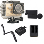 Sj5000X (Gold) +(Battery+Dual charger+Protective Lans+3 Way)