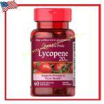 Lycopene 20 mg 60 Softgels-Puritan's Pride