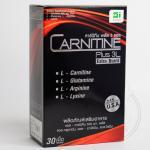 CARNITINE Plus 3L Extra Burnt 30เม็ด 1 กล่อง