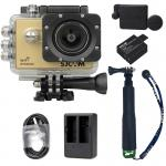X1000 Gold +Extra Battery+Dual Charger+Protective Lens+TMC Selfie (Green)