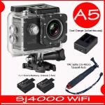 SJ4000 Wi-Fi (Black)+Battery+Dual Charger+TMC Selfie