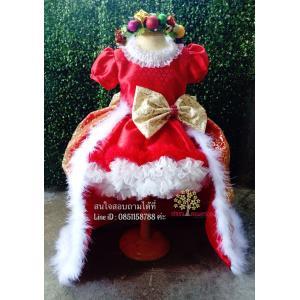 ชุดซานตารีน่า ชุดคริสมาส