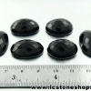 พลอยนิลทรงรี 6 ชิ้น(Black Spinel) - 171.5ct.