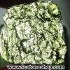 สะเก็ดดาวสีเขียว โมลดาไวท์ (Moldavite) 29.96ct.