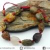 สร้อยข้อมือ อาเกตทะเลทรายโกบี เกรด A (Gobi Agate) 32g