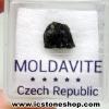 สะเก็ดดาวโมลดาไวท์ (Moldavite) 2.24ct.