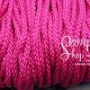 เชือกถัก P.P. #12 สีชมพูเข้ม (10เมตร)