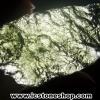 สะเก็ดดาวสีเขียว โมลดาไวท์ (Moldavite) 19.93ct.
