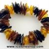 ▽สร้อยข้อมือ อำพันบอลติก (MIX3-3) Genuine Baltic Amber (24g)