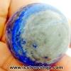 ▽ลาพิส ลาซูลี (Lapis lazuli) ทรงบอล หินทรงกลม 3.7 cm