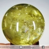 ซิทริน Citrine เกรด A+ ทรงบอล หินทรงกลม 4.8cm.