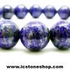 สร้อยหิน ลาพิส ลาซูลี่ (Lapis Lazuli) 9.5mm.