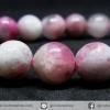 ▽สร้อยหิน ทัวร์มาลีนสีชมพู(Pink Tourmaline) 8mm.