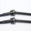 STEEL #45 FRONT/REAR CVD SHAFT (38MM) -1PR SET (FOR GF01 / TL01)
