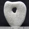 โฮเลย์สโตน Holey Stone 1 รูทะลุผ่าน รูปหัวใจ (6g)