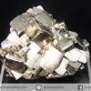ผลึกกลุ่มไพไรต์ Pyrite เปรูแหล่งสวยสุดในโลก (90g)