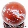 เรดแจสเปอร์ Red Jasper ทรงบอล 3 cm