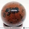มะฮอกกานี ออบซิเดียน Mahogany Obsidian ทรงบอล หินทรงกลม 4 cm