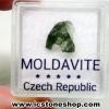 สะเก็ดดาวโมลดาไวท์ (Moldavite) 1.6ct.