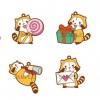 Petit Rascal - PitaColle Rubber Strap 8Pack BOX(Pre-order)
