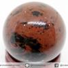 มะฮอกกานี ออบซิเดียน Mahogany Obsidian ทรงบอล หินทรงกลม 3 cm