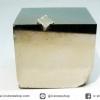 A+ เพชรหน้าทั่งซ้อน หรือไพไรต์ pyrite ทรงลูกบาศก์ (100g)