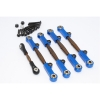 SPRING STEEL COMPLETED ANTI-THREAD TIE ROD WITH ALUMINIUM ENDS - YT160S